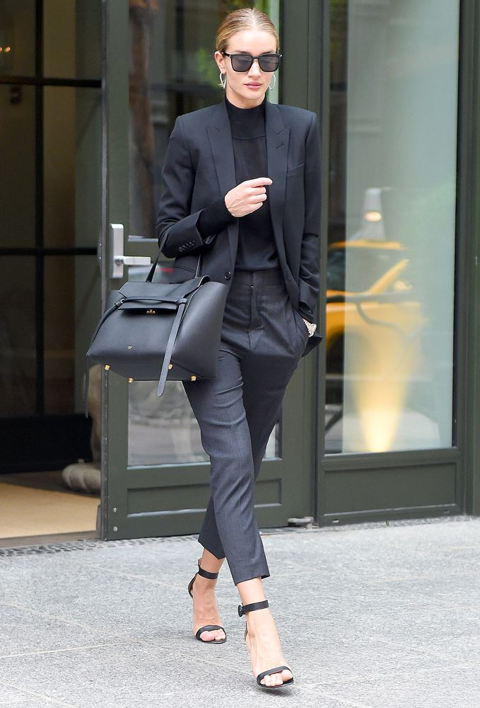 Just Can't Get Enough: Rosie Huntington-Whiteley and her Céline Belt Bag