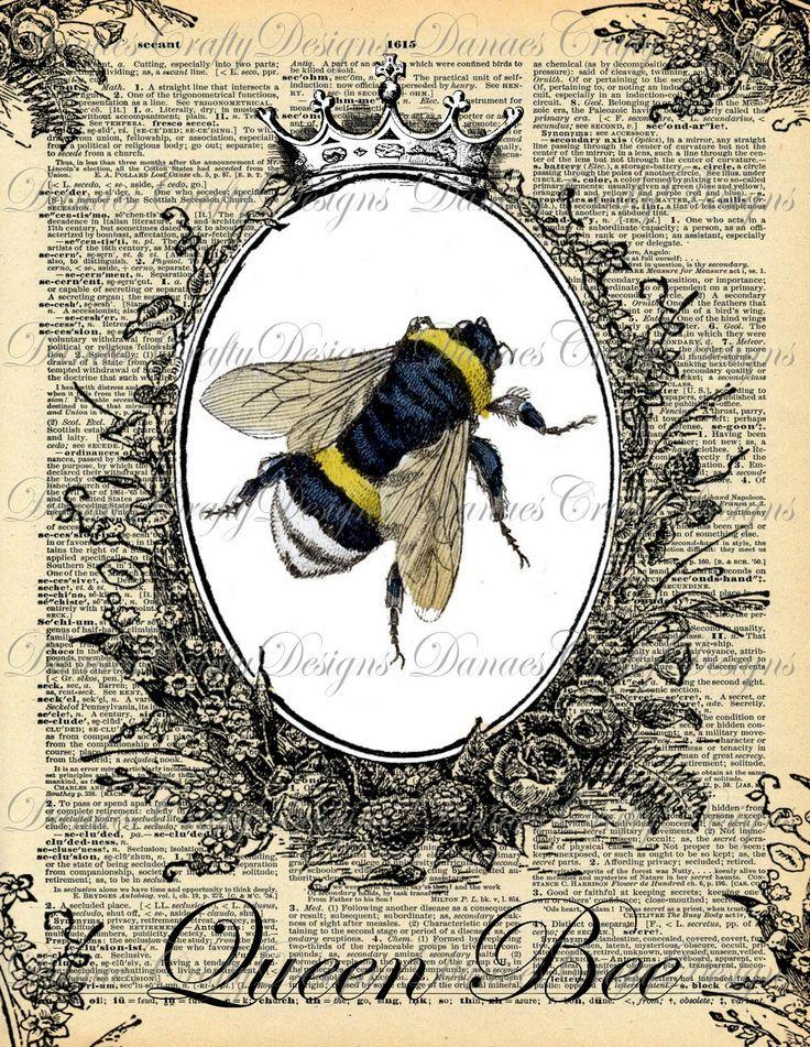 Мед пчелы картинки для декупажа