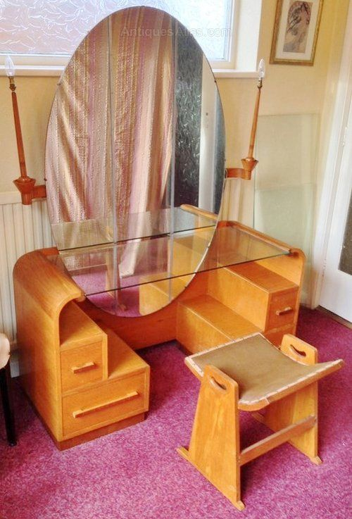 17 Best Images About Art Deco Dressing Table On Pinterest