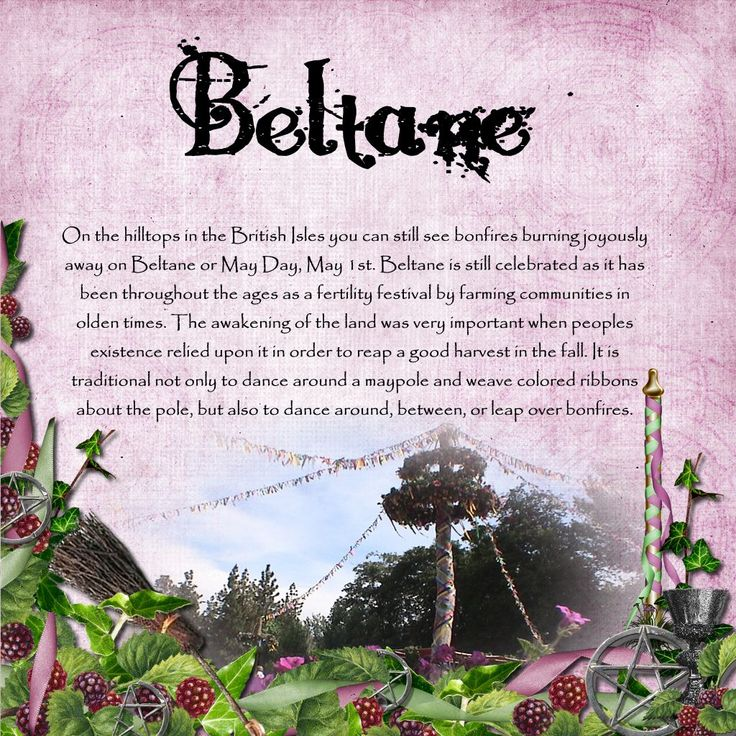 Beltaine ~ May 1st ~ In Iri