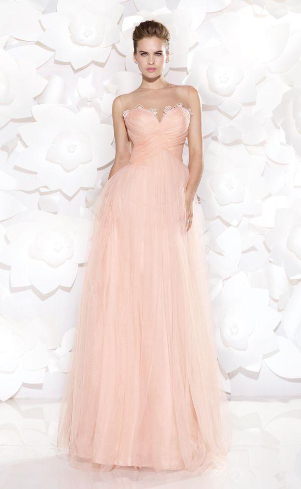 59 best Sweetheart Neckline Dresses images on Pinterest   Party wear ...