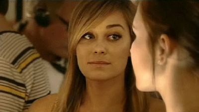 The Perfect Lauren Conrad GIF For Every Occasion #refinery29 http://www.refinery29.com/2015/02/81485/lauren-conrad-birthday-gifs#slide-3 When you're turning up on a Tuesday.