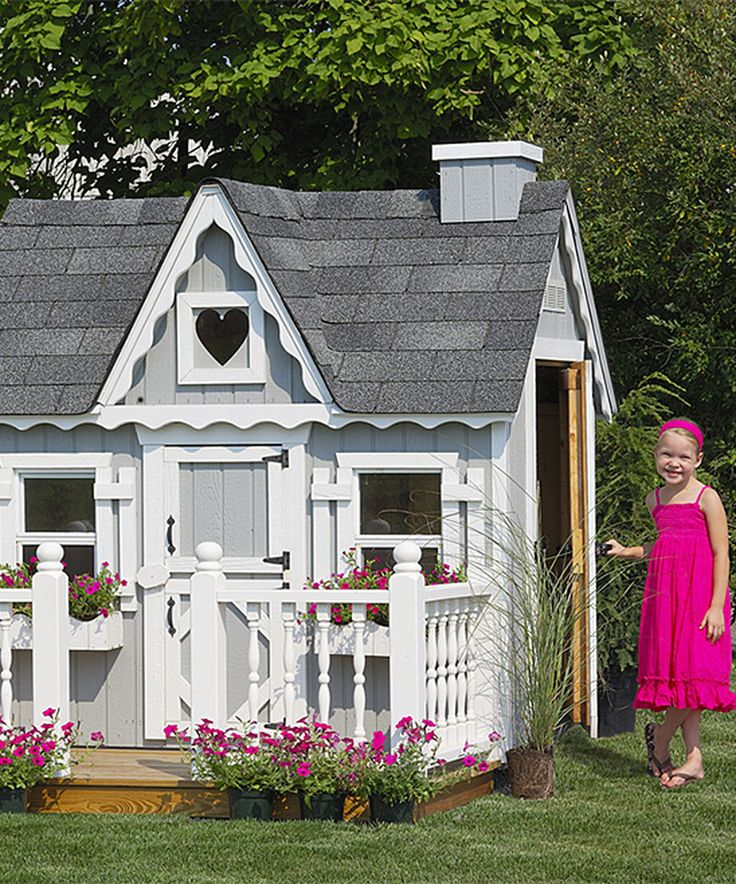 Home Depot Playhouses : Best playhouse kits ideas on pinterest tree house