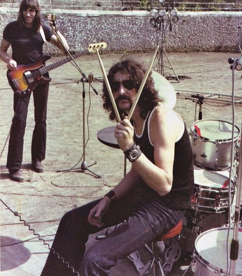 Roger Waters and Nick Mason (Pink Floyd).                                                                                                                                                      More