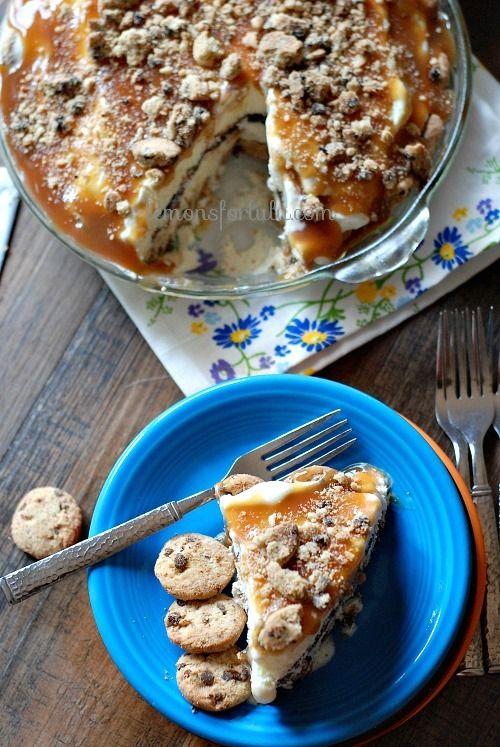 Hot For Cookie Ice Cream Pie - Lemons for Lulu