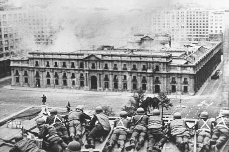 On September 11, 1973, the socialist government of Chilean president Salvador Allende was overthrown in a military coup backed by the US government.