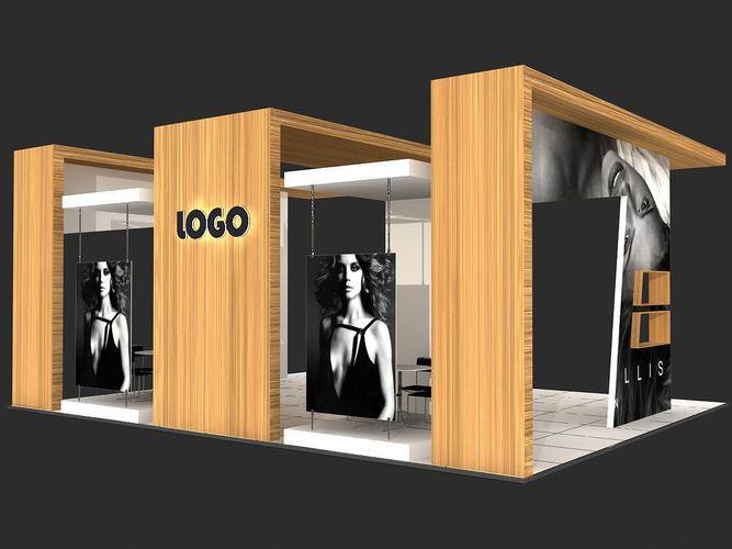 Exhibition Stand 3d Model : Exhibition stand 3d model max 3 stand exhibition stall design