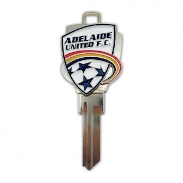 Creative Keys Adelaide United FC House Key-Not Scanlens,Soccer, Football-LQQK!