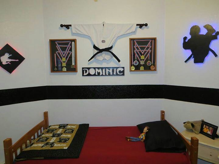Martial Arts Bedroom