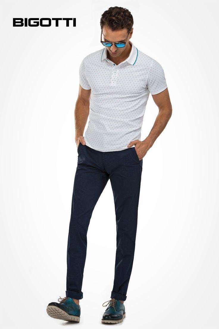 The #polo #shirt, #chinos and #extralightsole #shoes - #perfect for a #smart and #comfortable #summer #outfit  www.bigotti.ro #Bigottiromania #summersales #reduceri #discounts #promotie #ootd #ootdmen #tricouri #pantaloni #chino #pantofi #talpa #extralight #confortabil #cool #stylish #vara #summertime #summervibe #followus