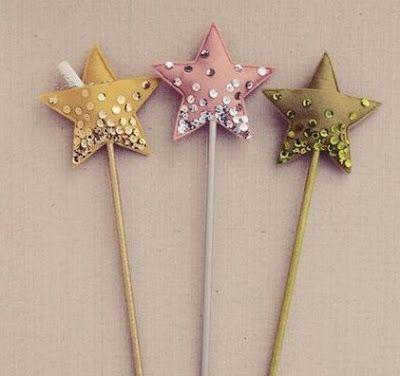 Como hacer una varita de estrella | Solountip.com