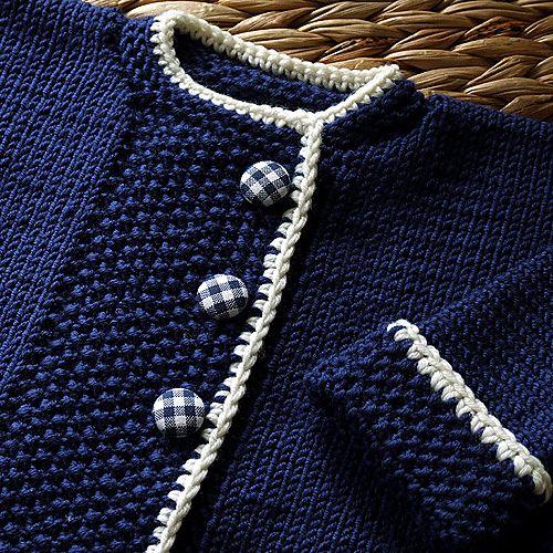 Ravelry: AliciaPaulson's Sweet Navy Sweater ~ so classic!