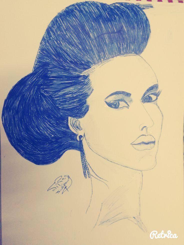 Drawing beautiful face