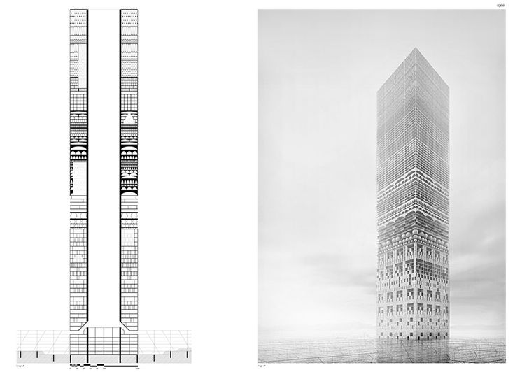 Architectural Drawings Of Skyscrapers 52 best pianta images on pinterest | floor plans, architecture