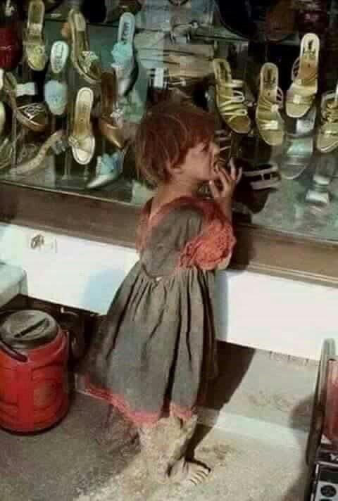 Poor girl  Afghanistan