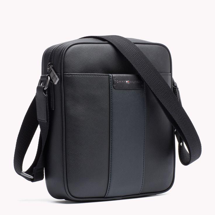 Slim Reporter Bag | Black/Midnight | Tommy Hilfiger® | 8719111430935