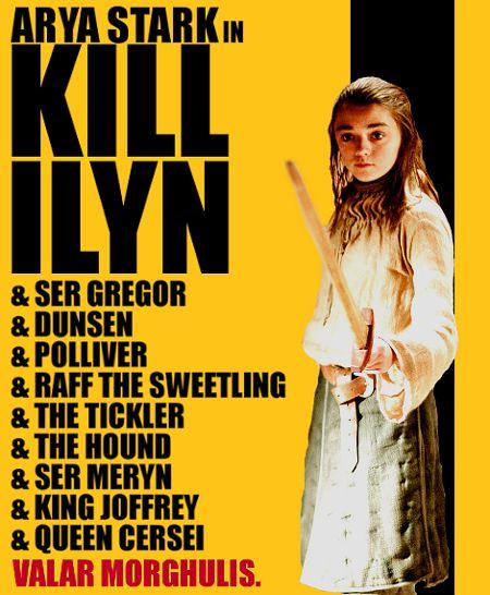 Game of Thrones: Season 2 Kill Ilyn Poster.