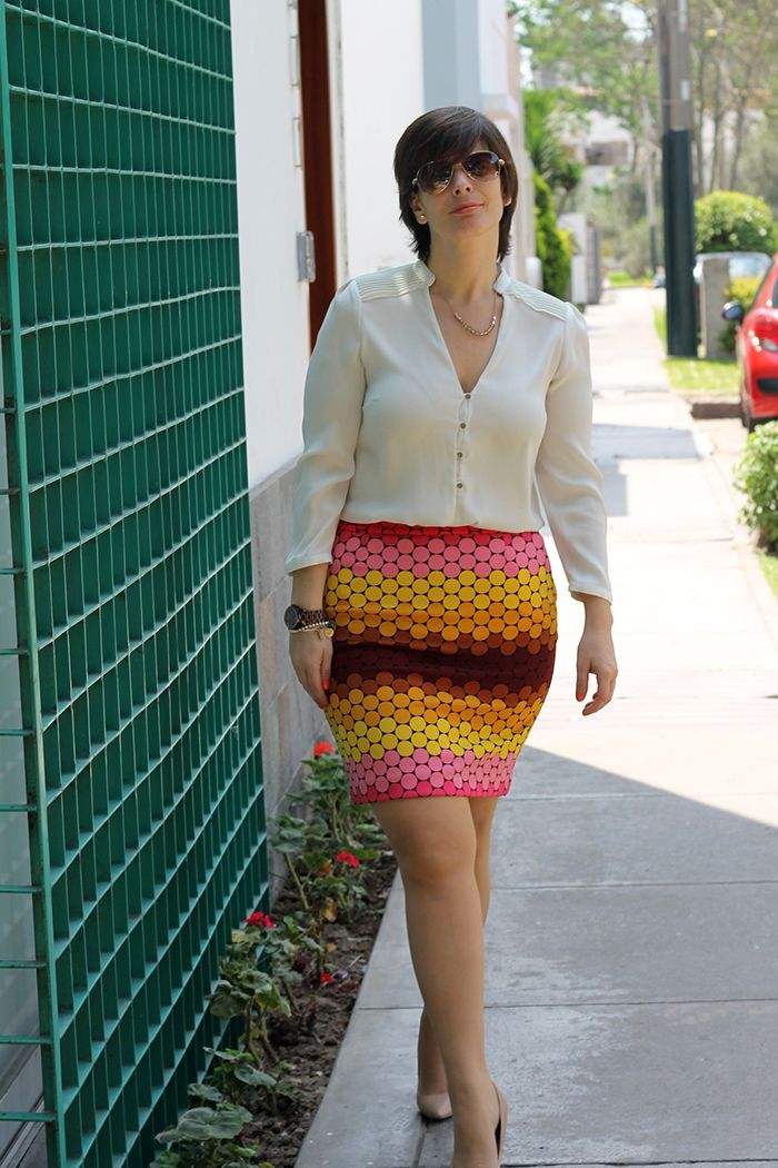 Divina Ejecutiva: Mis Looks - Los colores del verano