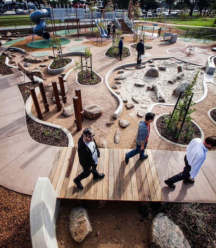 ASPECT Studios, Dandenong park Regional Playground, Australia. Visit the slowottawa.ca boards >> http://www.pinterest.com/slowottawa/