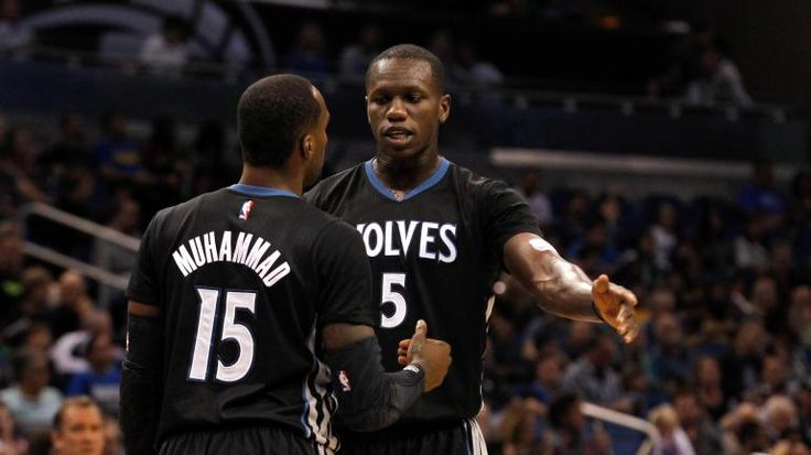 The Wolves are slow-playing extensions for Gorgui Dieng Shabazz Muhammad
