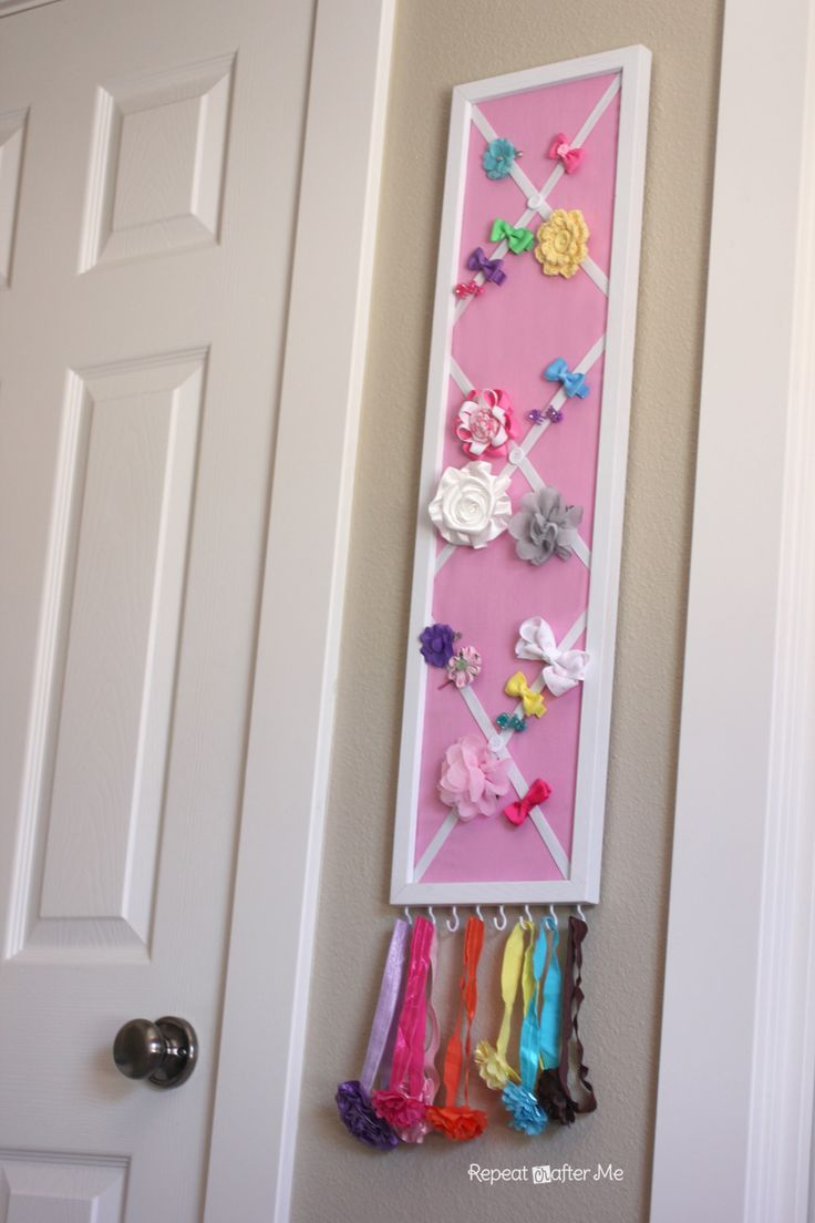 How to organize hair bows - Ever Since I Found Out I Was Having A Girl I Started Buying Hair Accessories
