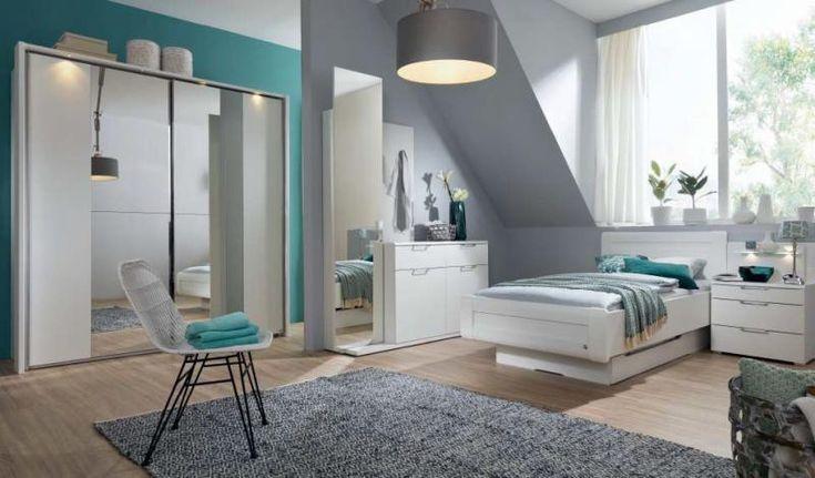 #Rauch #Schlafzimmer #Möbel #Bett #Schrank #weiß #Schlafzimmerprogramm - Möbel Mit www.moebelmit.de