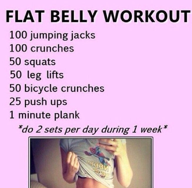 Flat Belly 1 Week