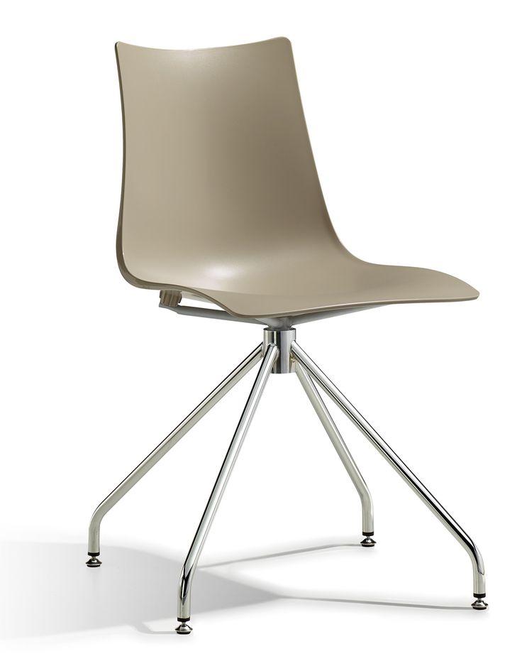 Zebra Tech Twist stoel - Scab - Zand