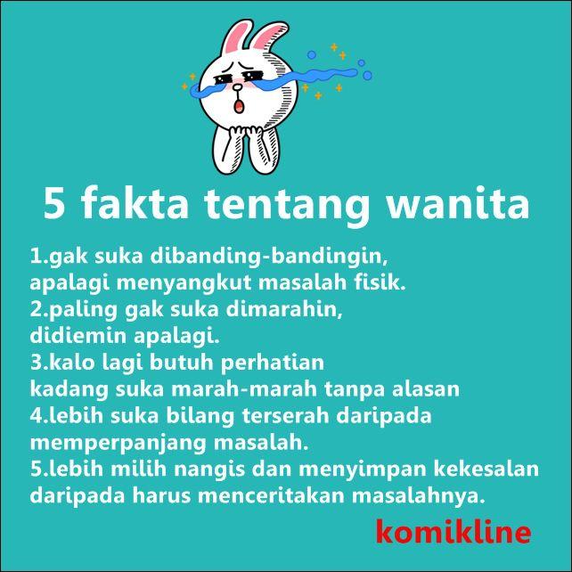 5 fakta tentang wanita