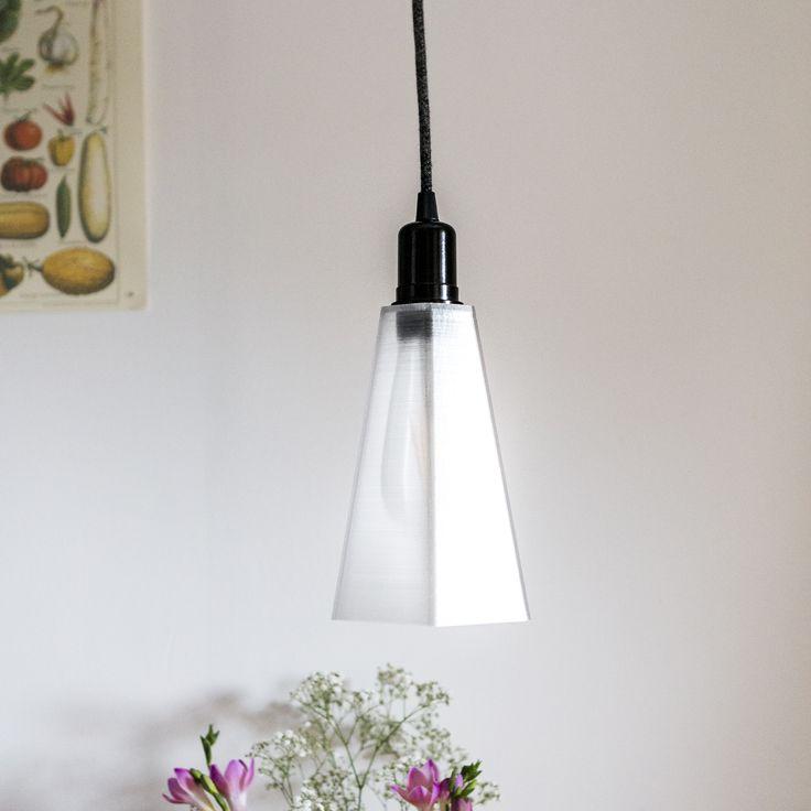 PLYSET 3D printed Lamp H01 - Kitchen pendant www.plyset.cc