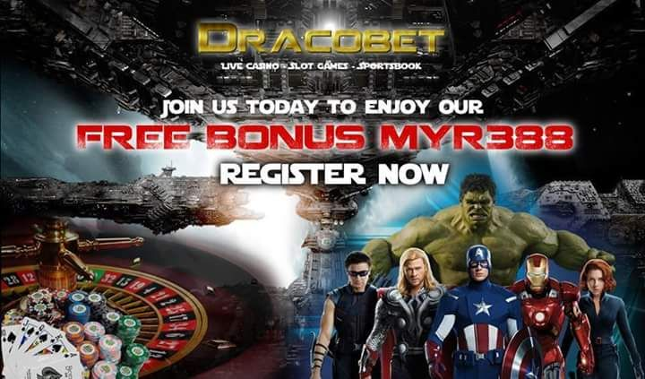 -=DracoBet Promotion=- Click to JOIN US TODAY at http://www.DracoBet.com New member >>110% WELCOME BONUS FREE UP TO RM388!! STARTER PACK FREE BONUS RM88 DAILY RELOAD FREE 18% NO LIMIT RELOAD 5% CASH...
