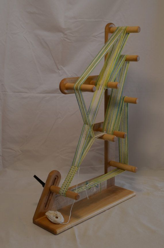solid maple inkle loom by InkleLoomShop on Etsy  That's different.