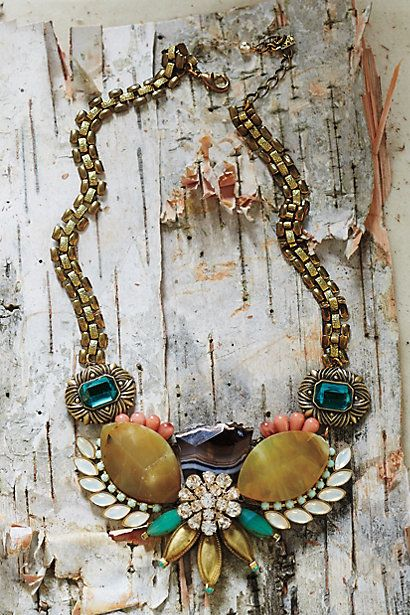 I'm in love with the Norrland Necklace - anthropologie.com $88