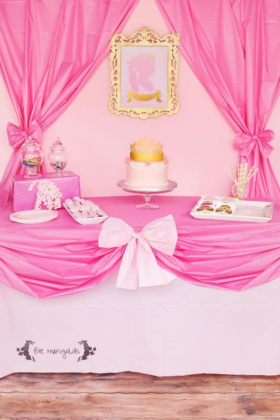 Complete Pink Princess Party For Less Than 20