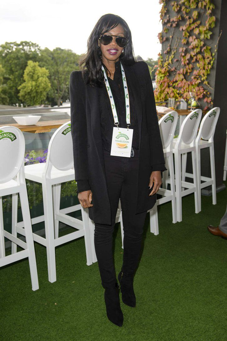 Pin for Later: It's Game, Set, and Match For These Wimbledon-Loving Celebs Shaznay Lewis