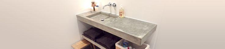 Deze wastafel is handig, het wasgedeelte in de dakkapel en het andere stuk onder het schuine!