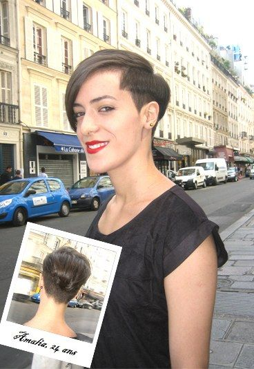Street style : coiffure cheveux courts - Street style beauté: tendance coiffure et maquillage