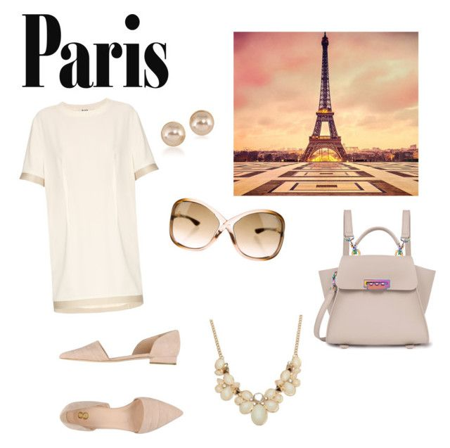 """Love Paris in the fall"" by borbalastyle on Polyvore featuring Acne Studios, ZAC Zac Posen, Tom Ford, Carolee and 8"