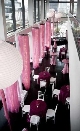 love the pink!: Venues Weddingidea, Style Shoots, Elegant Events, Venues Spots, Parties Ideas, Venues Originals, Venues Awesomewed, Wedding Venues, Venues Courtesi