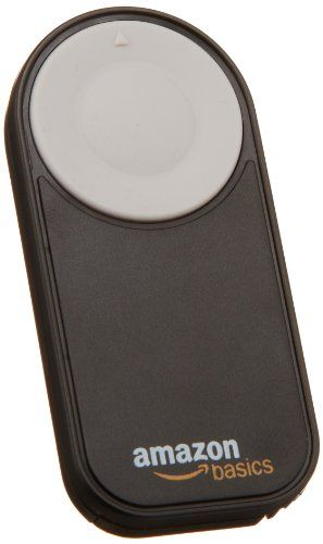 Discounted AmazonBasics Wireless Remote Control for Canon Digital SLR Cameras