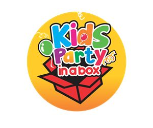Kids party supply online business Colorful, Playful Logo Design by Gigih Rudya