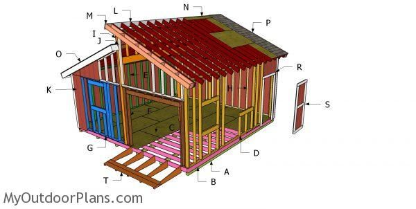 20 20 Clerestory Shed Roof Plans Free Shed Plans Shed Plans Diy Shed