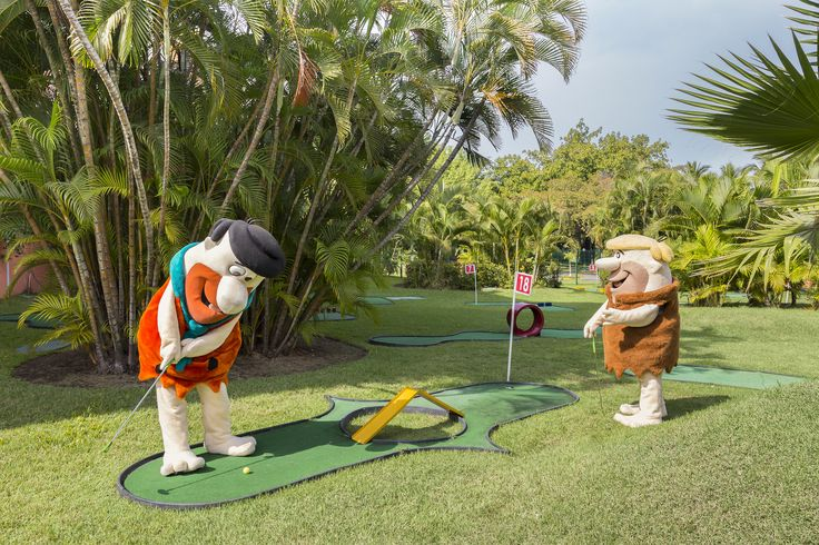 Mini golf at the Melia Puerto Vallarta.