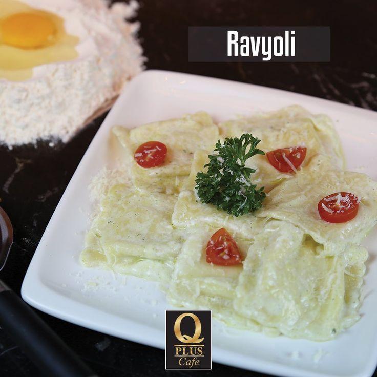 İtalyan mutfağının vazgeçilmezi Ravyoli Q Plus'da sizlerle... 🙂 #Qpluscafe #Rayoli