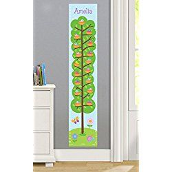 Birdie Personalized Wall Decal Growth Chart By Olive Kids