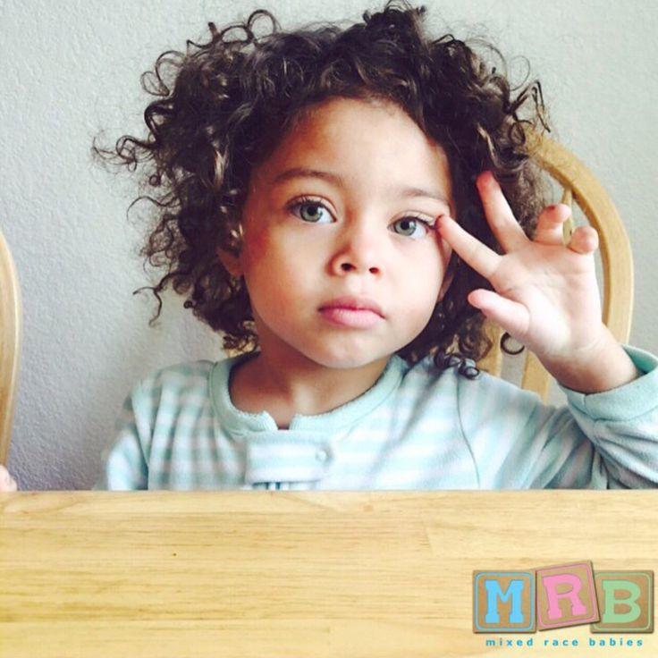 Hispanic, Caucasian, and African American (: #mixedracebabies
