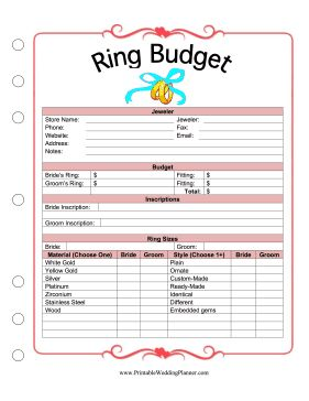 58 best images about planner book on pinterest receptions print and honeymoon checklist