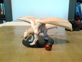 White Dragon (Updated) in Black Strong & Flexible