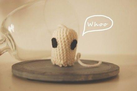Spaventosi fantasmi per Halloween all'uncinetto : Accessori casa di keep-calm-and-knit