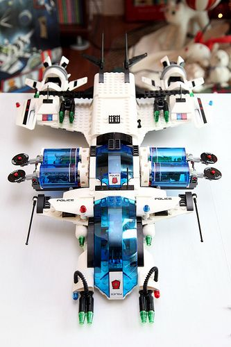 awesome LEGO Space Police- Galactic Enforcer (5974) - 22